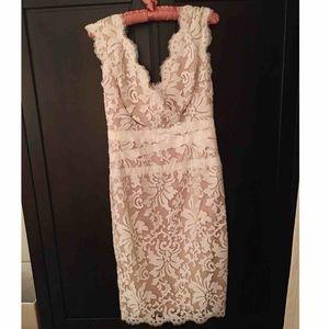 Tadashi Shoji White Lace Dress - ONCE WORN